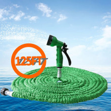 With 7 in 1 Spray Gun 25FT-200FT Garden Hose Expandable Magic Flexible Water Hose EU Hose Plastic Hoses Pipe To Watering