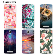 Buy CaseRiver Soft Case Lenovo A1000 A2800 Case New Arrival Flowers Silicone Painted Phone Skin Case Cover Lenovo 1000 for $1.20 in AliExpress store