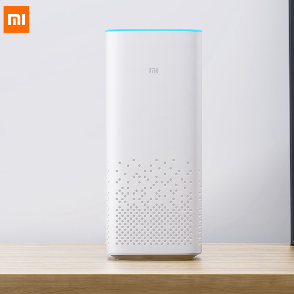 Xiaomi AI WiFi Bluetooth 4.1 Speaker Classical Volume Control Hands-free Calls Two-channel Supports A2DP music playing 12V 4 ohm