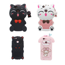 21 Types For Huawei Nova Case  Lovely Cute 3D Cartoon Soft Silicon Cover For Huawei Nova 5.0 Inch Mobile Phone Cases
