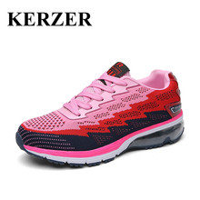 KERZER 2017 Women Sport Sneakers Luxury Brand Athletic Shoes Air Walking Jogging Shoes Ladies Training Running Shoes Cheap