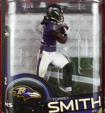 Animation Garage Kid Model Toys: JJIN Action Figure PVC Dolls NFL Rugby&Football Player Torrey Smith Model Excellent Gifts