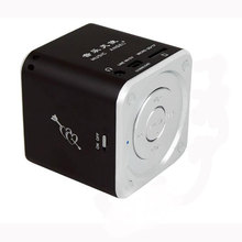 Mini usb speaker MD07 SPEAKER FM SD FOR MP3 IPHONE IPAD IPOD PC  BLACK