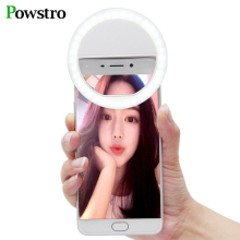 Selfie Portable Flash Led Camera Phone Photography Ring Light Enhancing Photography for iPhone Smartphone Pink White Black