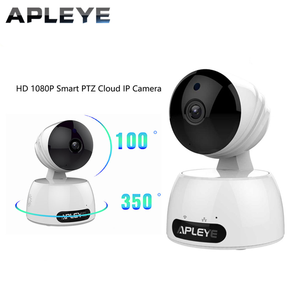 APLEYE HD 1080P IP Camera Smart PTZ Cloud WIFI Camera 2.0MP CCTV Security Wireless Network Video Surveillance Camera