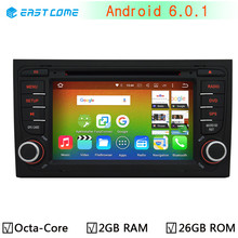 HD 1024*600 Octa Core 2GB RAM Android 6.0.1 Car DVD Player For Audi A4 2002-2007 Seat Exeo 2009-2012 Radio GPS Navigation System