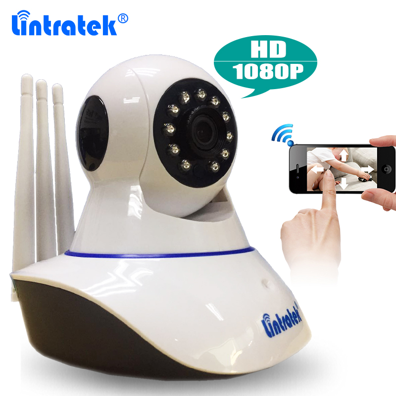 Tri Antenna 2MP CCTV Security HD 1080P Wireless P2P Wifi IP Camera Baby Monitor Pan/Tilt 2-Way Audio IR Night Vision Yoosee APP<br>