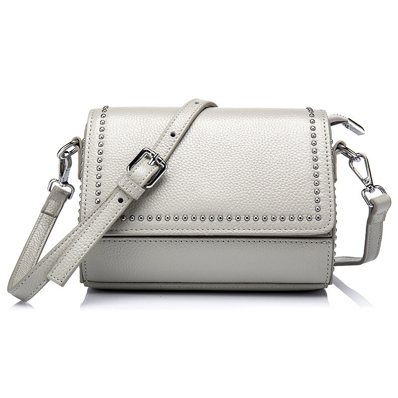 Luxury cow flap Shoulder Bag Women Famous Brand Small Messenger Bags For Women Bags Lady High Quality Genuine Leather Handbags<br>