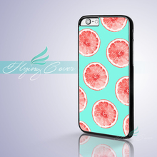 Fundas Cartoon Fruit Lemon Orange Phone Cases for iPhone 7 6S 6 5S SE 5C 5 4S 4 7 Plus Case for iPod Touch 6 iPod Touch 5 Cover.(China)