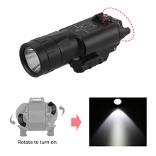 Outdoor Tactical LED Light 450LM Super Bright Mini Light Lamp Waterproof Gun Accessories for Hiking Camping Hunting Outdoor Tool