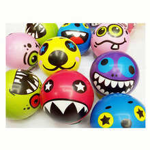 12pcs Fun Emoji Face Squeeze Balls Modern Stress Ball Relax Emotional Hand Wrist Exercise Stress Toy Balls Toys for Children(China)
