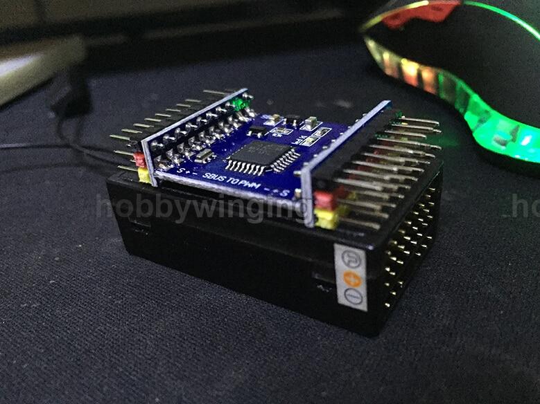 Free shipping DIY SBUS To PWM/PPM Decoder 16CH For Futaba Orange Frsky<br><br>Aliexpress