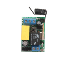 AC 220V 1CH Relay Mini Receiver 10A Remote Switch Input AC220V Out 220V Wireless Switch 315/433.92MHZ Superheterodyne RX