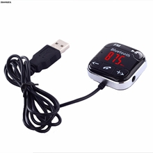 mosunx Car Kit Wireless Bluetooth FM Transmitter MP3 Player USB SD LCD Remote Handsfree(China)