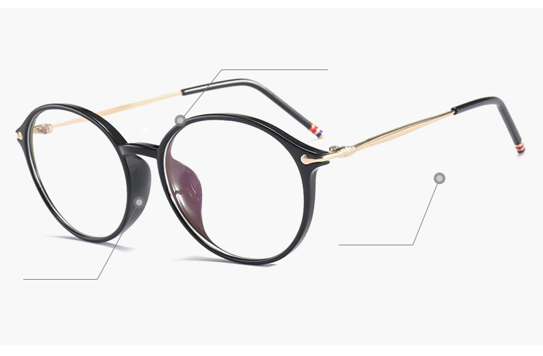 a3be63aa05 2019 Hindfield Ultra Light TR90 Glasses Frame Women Fashion Reading ...