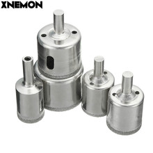 XNEMON 5Pcs/Set Diamond Hole Saw Core Drill Bit Set Tile Glass Marble Granite Slate Drilling Cutting Tool 20 26 30 35 42mm(China)