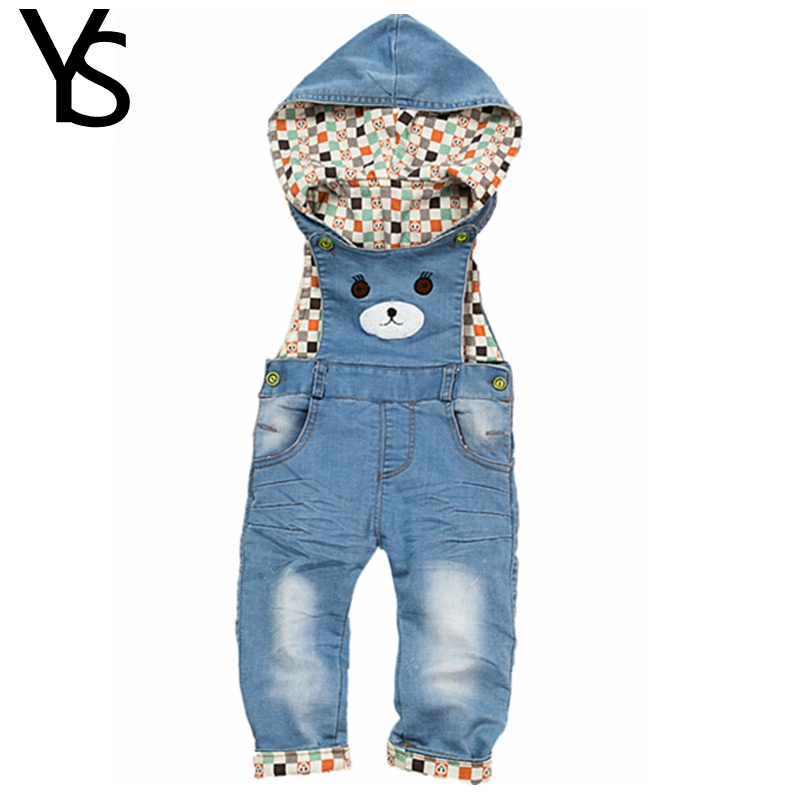 9m-4T 100% Cotton Soft Comfortable Baby Long Pants Overalls Infant Jeans Jumpsuit Toddler Girls Boys Spring Autumn Clothes<br><br>Aliexpress