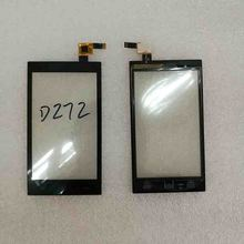 New original High Quality For BLU Dash Music 4.0 D272 TouchScreen Panel Digitizer Sensor Glass Black Colors with Tracking number(China)