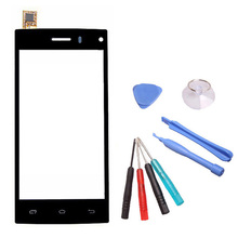 LINGWUZHE Black Touch Screen For DEXP Ixion X 4.5 inch Cell Phone Digitizer Sensor Replacement With Tools