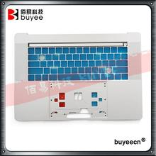 "Original New Silver For MacBook Pro Retina A1707 Palm Rest Housing US Version 2016 Year 15 Inch 15"" A1707 Top Cover Case"