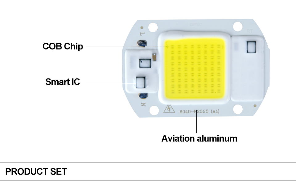 COB LED Chip Light With lens reflector (9)
