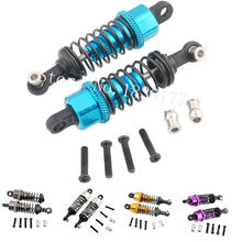 4-Pack 1/18 WLtoys A959 Upgrade Parts Aluminum Shock Absorber For A949 A969 A979 K929 Replace A949-55 RC Car(China)
