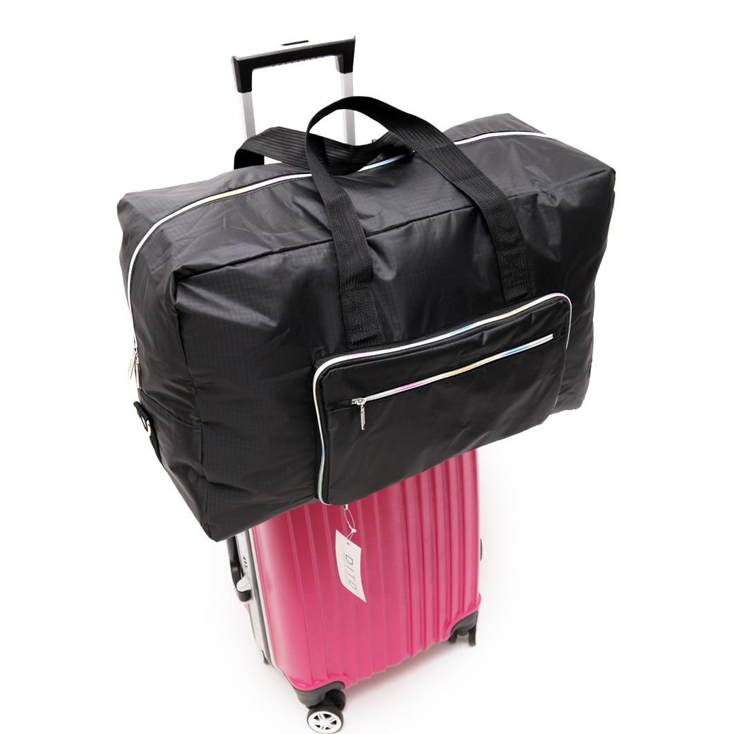 Travel Luggage Duffle Bag Lightweight Portable Handbag Colorful Elephant Large Capacity Waterproof Foldable Storage Tote