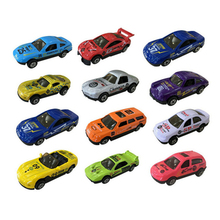 1 Pc Toy Race Car 1:64 Scale Car Model Alloy Plastic Vehicles Model Christmas Birthday Gift for Children Boys Collection Toy