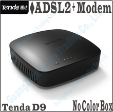 New Style Design, Tenda D9 High Speed DSL Internet Modem ADSL 2+ Wired Router ADSL Broadband Modem, No Color Package Box,