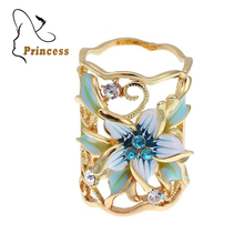 Hot Sale High Quality Fashion Accessories Silver Gold color  Plated Hollow Out Flower Scarf Buckle Brooch Wedding Flower YY0316
