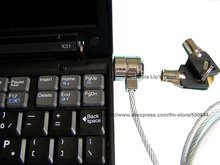 Laptop Lock/PC Security Lock/Notebook Anti-theft Lock & 30PCS/Lot DHL/EMS Free Shipping