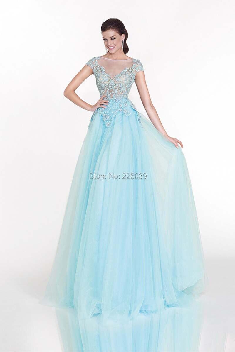 Online Get Cheap Beautiful Light Blue Prom Dresses -Aliexpress.com ...