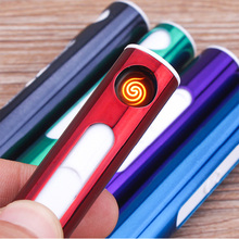 Mini USB Cigarette Cigar Electric Smoker Lighter Windproof Camping Fishing Hiking Supply High Quality