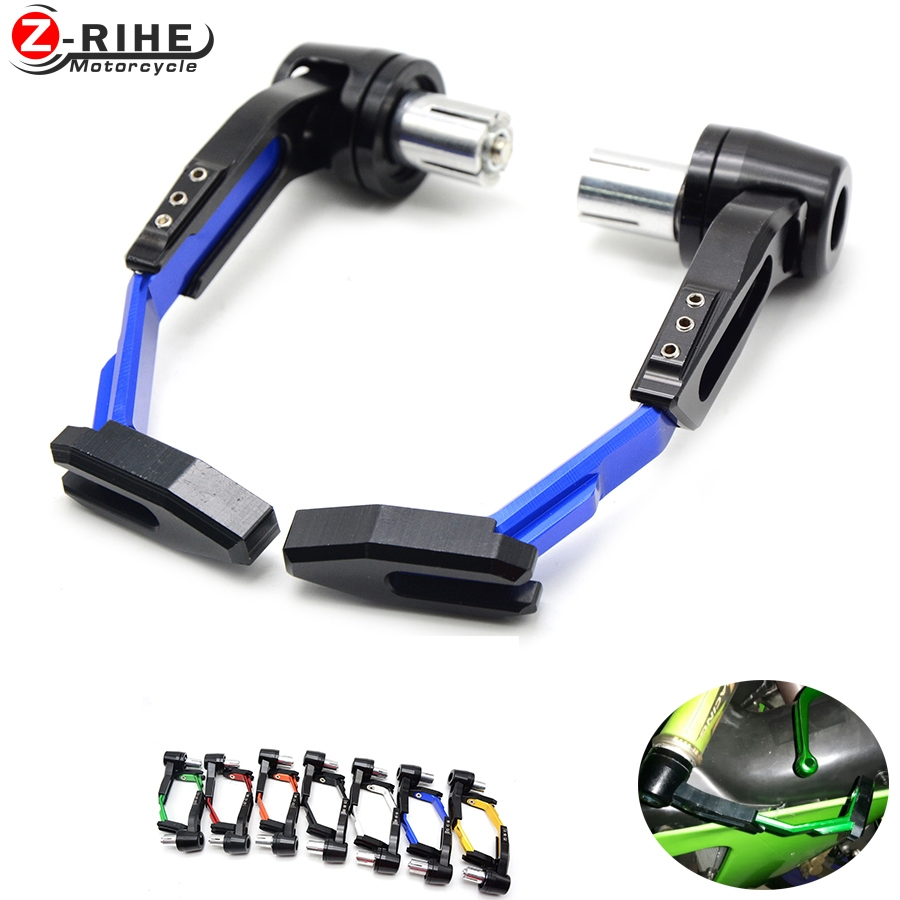 "Universal 7/8"" 22mm Motorcycle Aluminum Proguard System Brake Clutch Levers Protect Guard For yamaha fz8 yzf r6 yzf r25 MT-07 09"