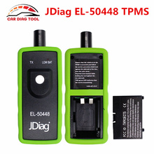 JDiag EL-50448 TPMS Activation Tool forGM/Opel EL50448 Work On All General Motor EL 50448Automotive Tire Pressure Monitor Sensor(China)