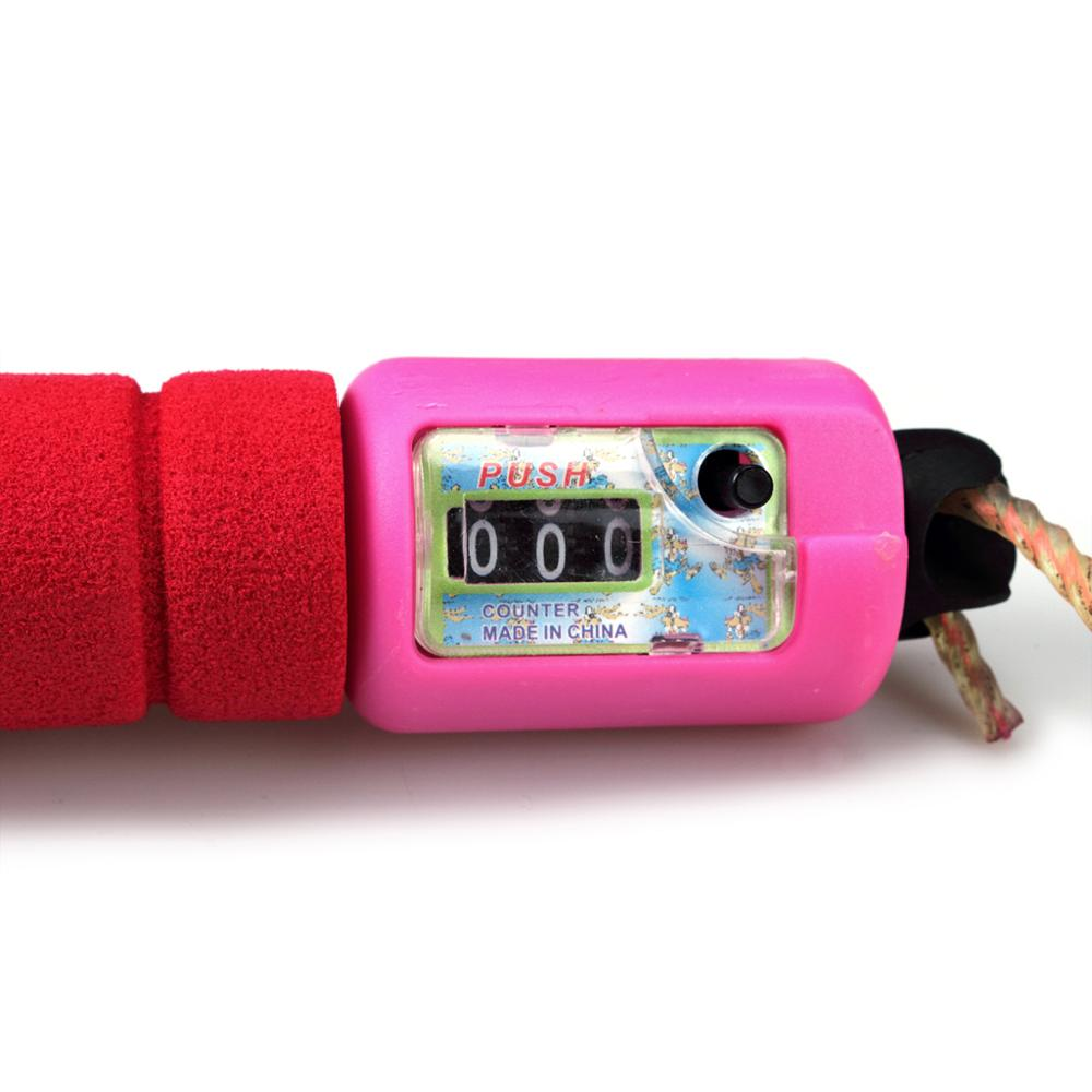 2.4mtr Digital Skipping Jump Rope with Counter Timer Sponge Handle for Fitness Best Gifts for kids Childrens (6)