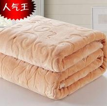Warm woollen blanket flannel carpet red pink green sky blue camel watermelon red rose rug 70x100cm to 200x230cm hot sale B1001B(China)