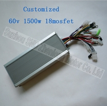 Motor controller BLDC 60V 1500W 18mosfet with self-study function easy install/sensorless motor can use G-K019