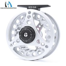 Maximumcatch Fly Fishing Reel 5/6/7/8 WT Large Arbor Die Casting Aluminum Fly Reel