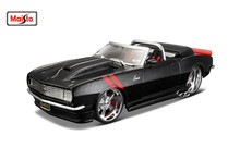 Maisto 1:24 1968 Chevrolet Camaro SS RS Assembly DIY Diecast Model Car Toy New In Box Free Shipping