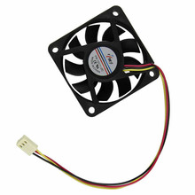 2017 Top Quality 60mm PC CPU Cooling Fan 12v 3 Pin Computer Case Cooler Quiet Molex Connector Easy Installed