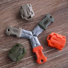 100PCS/Lot Protable Key Fold Knife Mini Folding Tool Camping Survival Tactical Rescue Pocket Peeler Blade Multi Functional EDC(China)