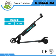 36v 250w Detachable Hanging Battery Children Audult Smart Drive Mini 5.5inch Electric Folding Scooter Standing Skatebaord