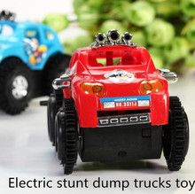 Hot sale ! Children electric car Mickey, Mickey stunt dump trucks, electric toy car model, free shipping