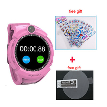 Vm50 Q360 Kids Smart Watch with Camera GPS WIFI Location Child smartwatch SOS Anti-Lost Monitor Tracker baby WristWatch PK Q528(China)
