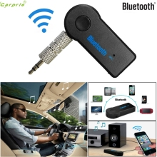 Cls Details about Wireless Bluetooth 3.5mm AUX Audio Stereo Music Home Car Receiver Adapter Mic sz0118