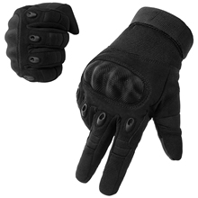 New Brand Tactical Gloves Military Army Paintball Airsoft Shooting Police Carbon Hard Knuckle Full Finger Gloves