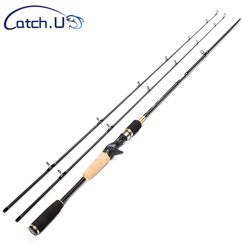 Catch.U 1.8M 2 Tips Fishing Rod Spinning Hard,Fishing Rods Hard Casting Spinning Rod                                            <br>