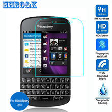 For Rim BlackBerry Q10 Tempered Glass Screen Protector 2.5 9h on Nevada SQN100-1 SQN100-3 SQN100-5 Lte