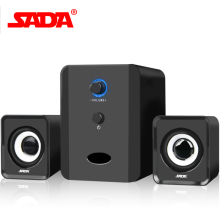 SADA Brand Mini wired Portable combination speaker Column computer speaker  2.1 USB channels 3W Laptop speakers PC